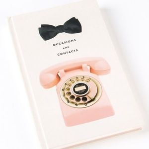 ⭐️Bow & Phone Address Book by Kate Spade New York